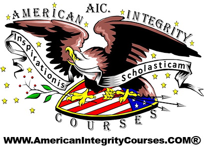 AIC. American Integrity Courses, Logo